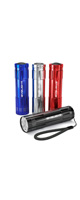 BYB/ Super Bright 9 LED Mini Aluminum Flashlight 4個セットLEDライト