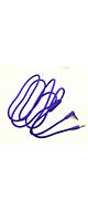 Sqrmekoko / Beats 対応 交換用ケーブル (Purple) 【Solo HD / Studio / Wireless / Pro / Mixr / Executive 対応】 - ヘッドホン交換ケーブル  -