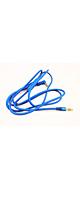 Sqrmekoko / Beats 対応 交換用ケーブル (Blue) 【Solo HD / Studio / Wireless / Pro / Mixr / Executive 対応】 - ヘッドホン交換ケーブル  -