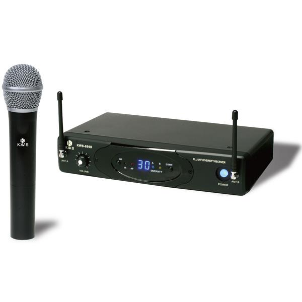 K.W.S / KWS-899H/H ワイヤレスシステム ハンドマイクタイプ