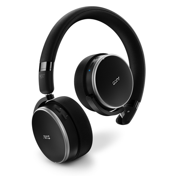 AKG(アーカーゲー) / N60NC WIRELESS - ノイズキャンセリング機能搭載 Bluetooth対応ワイヤレスヘッドホン - 1大特典セット