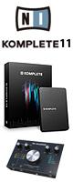 KOMPLETE 11 / Native Instruments(ネイティブインストゥルメンツ) / M-Track 2x2M DTMスターターセット 2大特典セット