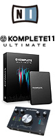 KOMPLETE 11 ULTIMATE / Native Instruments(ネイティブインストゥルメンツ) /M-Track 2x2M DTMスターターセット 3大特典セット