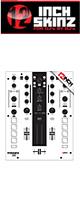 12inch SKINZ / Mixars DUO Skinz (White/Black) 【DUO 用スキン】