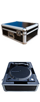 Euro Style(ユーロスタイル) / FLIGHTCASE for PLX-1000 (ブラック) 【対応機種: Pioneer PLX-1000 / PLX-500】 - ターンテーブルケース -