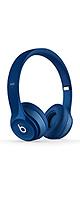 Beats(ビーツ) / Solo 2 Wired On-Ear Headphone - Blue -メーカー再生品(傷・使用感あり)