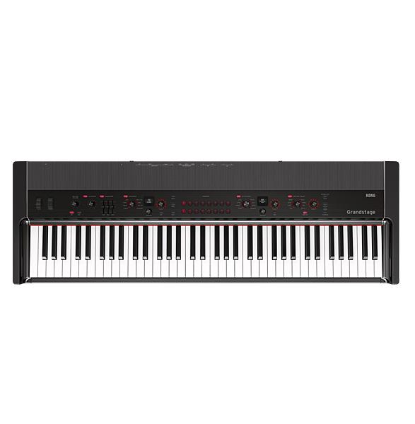 【限定1台】Korg(コルグ) / GS1-73 Grandstage 73鍵ステージピアノ 【スタンド(STD-M-SV)、ダンパー・ペダル(DS-1H)、専用譜面立て付属】