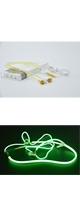 AINGSLIM / Metal Zipper Glow Earphones (GOLD) - 光るイヤホン -