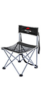 Naturehike / 超軽量 折り畳み椅子 (BLACK) - 屋外用コンパクトチェア -