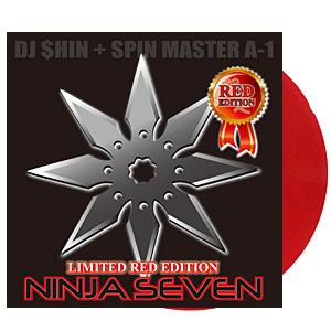 DJ $hin + Spin Master A-1 / Ninja Seven (RED) [7