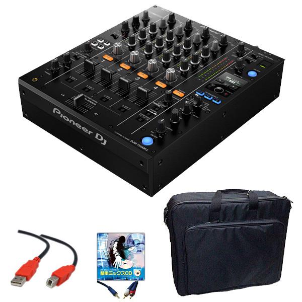 Pioneer DJ(パイオニア) / DJM-750MK2 【rekordbox dj、rekordbox dvs ライセンス同梱】 DVS機能・エフェクト搭載 4ch DJミキサー