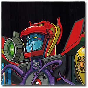 Skratchy Seal (DJ Qbert) / SUPER SEAL GIANT ROBO V.1 (head - Small Weapons Cover) [7