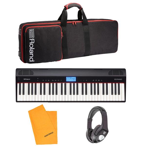 【スタートセット】Roland(ローランド) / GO:PIANO (GO-61P) - エントリーキーボード -
