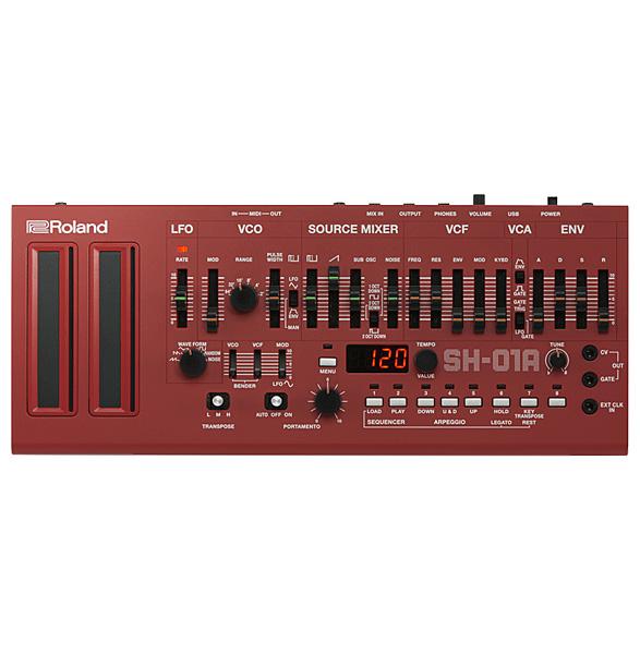 Roland(ローランド) / SH-01A-RD (レッド) - モノフォニックシンセサイザー / 音源モジュール -  【Boutique シリーズ】【10月28日発売予定】