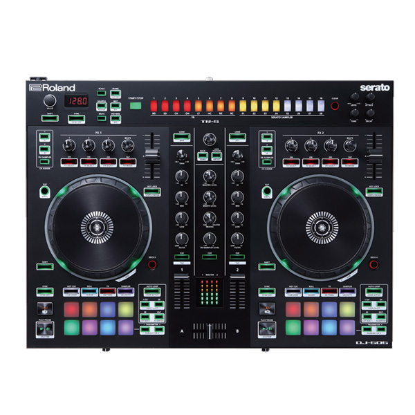 Roland(ローランド) / DJ-505 【Serato DJ 無償】- PCDJコントローラー -