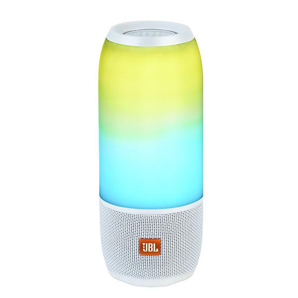 JBL(ジェービーエル) / PULSE3 (ホワイト) - 防水Bluetoothワイヤレススピーカー -