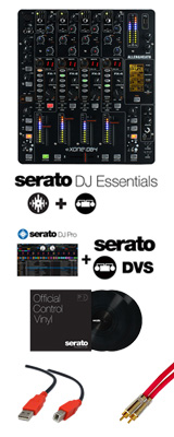 Allen&Heath(アレンアンドヒース) / XONE:DB4 / Serato DJ Essentials DVSセット 3大特典セット