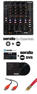 Allen&Heath(アレンアンドヒース) / Xone:43C / Serato DJ Essentials DVSセット  3大特典セット