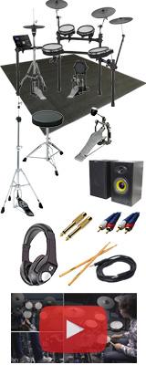 【スピーカーセット】 Roland(ローランド) / TD-25KV-S 電子ドラム エレドラ Vdums Vドラム 3シンバル 13大特典セット