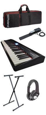 【モバイルセット】Roland(ローランド) / GO:PIANO - エントリーキーボード - 3大特典セット