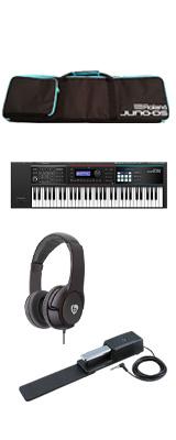 【最低限自宅練習セット】Roland(ローランド) / JUNO-DS61 - 61鍵 シンセサイザー  3大特典セット