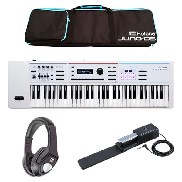 【最低限自宅練習セット】Roland(ローランド) / JUNO-DS61W - 61鍵 シンセサイザー