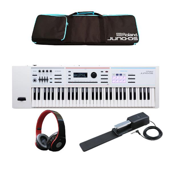 Roland(ローランド) / JUNO-DS61W 最低限自宅練習セット- 61鍵 シンセサイザー