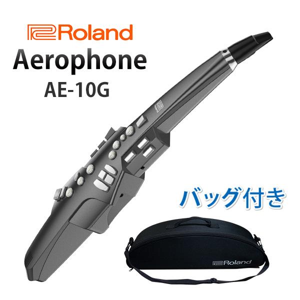 Roland(ローランド) / Aerophone (AE-10G) グラファイト・ブラック - エアロフォン / ウィンド・シンセサイザー - 【8月31日(金)までスタンド付き】