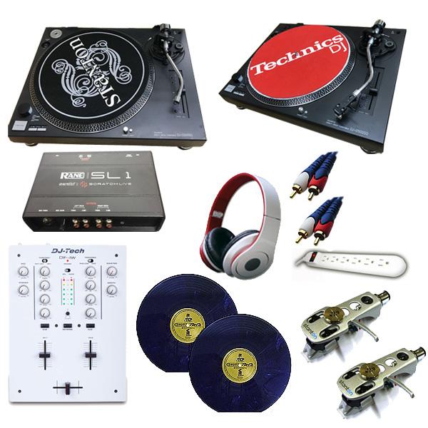 【限定1セット】【中古】DJ-2500SQ/DIF-1W/SL1 DVSセット