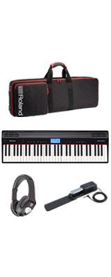 【最低限自宅練習セット】Roland(ローランド) / GO:PIANO - エントリーキーボード - 1大特典セット