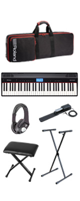 【イス付きオススメセット】Roland(ローランド) / GO:PIANO - エントリーキーボード - 4大特典セット