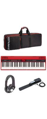 【最低限自宅練習セット】Roland(ローランド) / GO:KEYS - エントリーキーボード - 2大特典セット