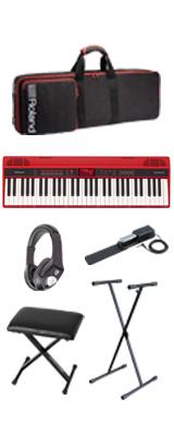 【イス付きオススメセット】Roland(ローランド) / GO:KEYS - エントリーキーボード - 4大特典セット