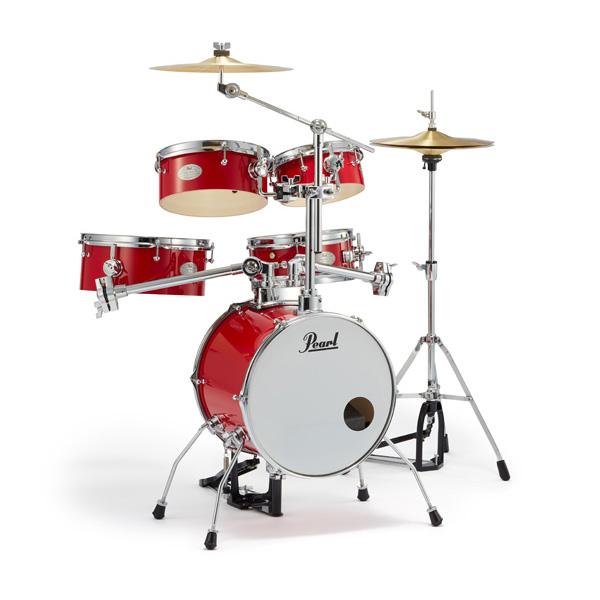 Pearl(パール) / Rhythm Traveler Version 3S 【RT-645N/C #94 Candy Apple (キャンディ・アップル)】 リズムトラベラー-コンパクト ドラムセット -