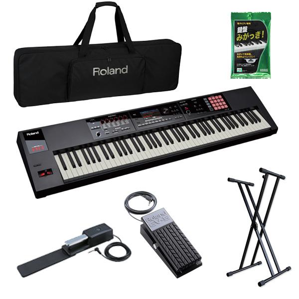 【2種のペダルセット】Roland(ローランド) / FA-08 - 88鍵盤ワークステーション・シンセサイザー -