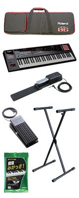 【2種のペダルセット】Roland(ローランド) / FA-06  - 61鍵盤ワークステーション・シンセサイザー - 4大特典セット
