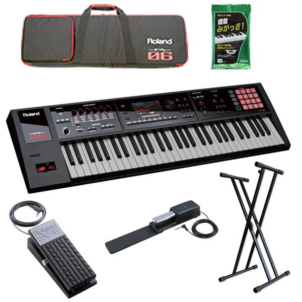 【2種のペダルセット】Roland(ローランド) / FA-06  - 61鍵盤ワークステーション・シンセサイザー -