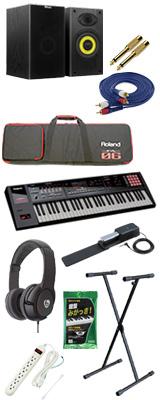 【モニターセット】Roland(ローランド) / FA-06  - 61鍵盤ワークステーション・シンセサイザー - 8大特典セット