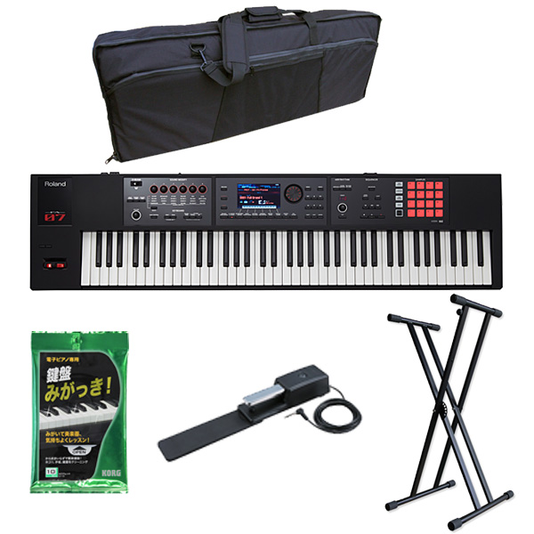 【基本セット】Roland(ローランド) / FA-07 -76 鍵盤ワークステーション・シンセサイザー -
