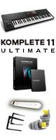 KOMPLETE KONTROL S61 MK2 /KOMPLETE 11 ULTIMATE UPGオススメセット 3大特典セット