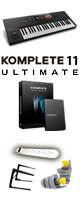 KOMPLETE KONTROL S49 MK2 /KOMPLETE 11 ULTIMATE UPGオススメセット 3大特典セット