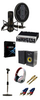 【DTM高音質レコーディングセットB】Cubase Pro 9 (アカデミック版) / UR22mkII / STC-20 PACK 5大特典セット