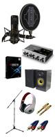 【DTM高音質レコーディングセットA】Cubase Pro 9 (アカデミック版) / KOMPLETE AUDIO 6 / STC-20 PACK セット 5大特典セット