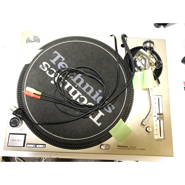 【限定1台】【中古】Technics(テクニクス) / SL-1200mk5 (シルバー) ターンテーブル