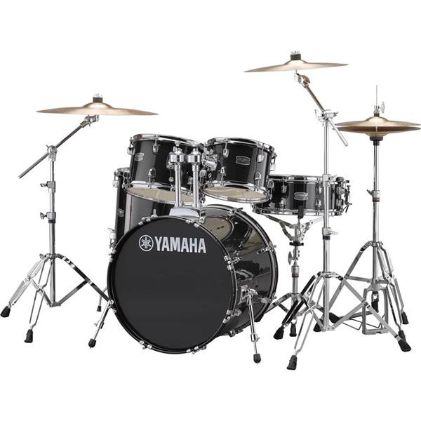 YAMAHA(ヤマハ) / RYDEEN(ライディーン) [RDP0F5STD BLG(ブラックグリッター)]【20BD シンバル付きフルセット】 - ドラムセット -
