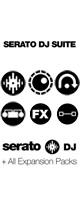 SERATO(セラート) / SERATO DJ SUITE 【Serato DJ / Serato Video / Serato Flip / Serato DVS / Serato FX Pack / Serato Pitch'n Time DJ バンドルキット】