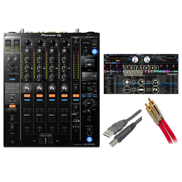 Pioneer(パイオニア) / DJM-900 NXS2 / Serato SUITE セット 3大特典セット