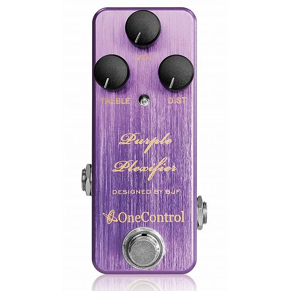 One Control(ワンコントロール) / Purple Plexifier - オーバードライブ -《ギターエフェクター》