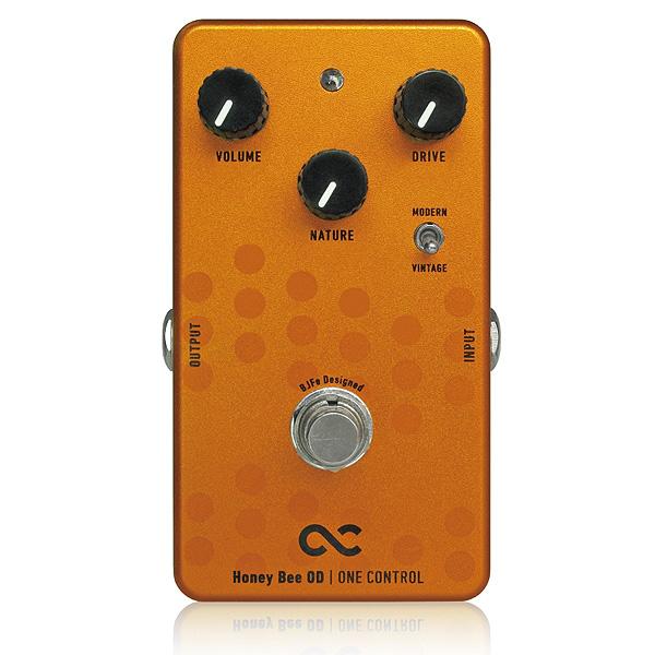 One Control(ワンコントロール) / Honey Bee OD - オーバードライブ -《ギターエフェクター》