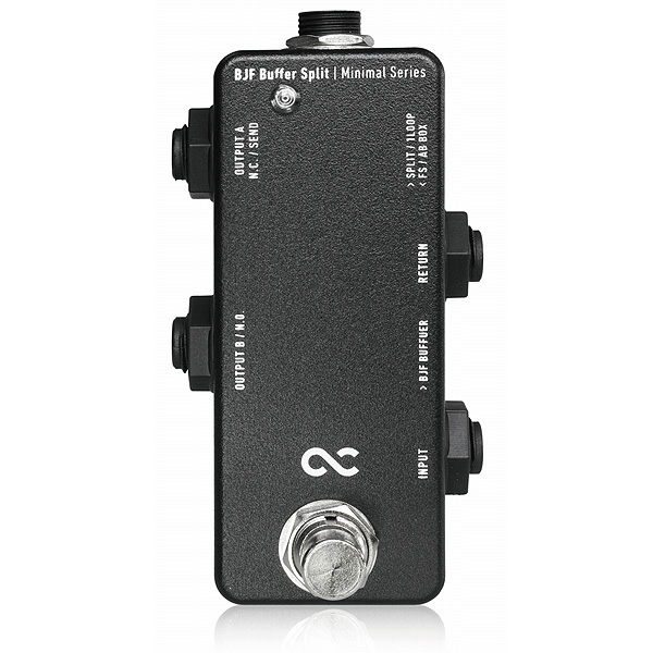 One Control(ワンコントロール) / Minimal Series BJF Buffer Split - バッファー -《ギター/ベースエフェクター》 1大特典セット